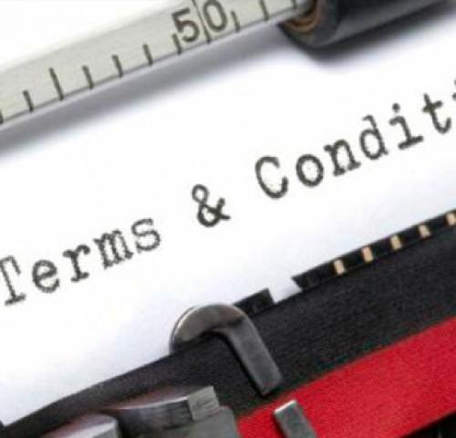 Termeni și conditii